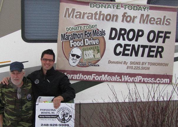 Andrew Androff donates