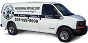 Courier Moving Van