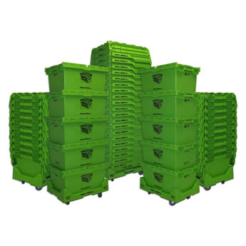 Rental Crates 50 Crate Package
