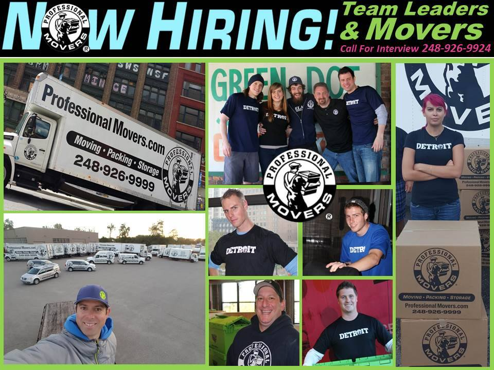 Professional Movers.com - We are Hiring