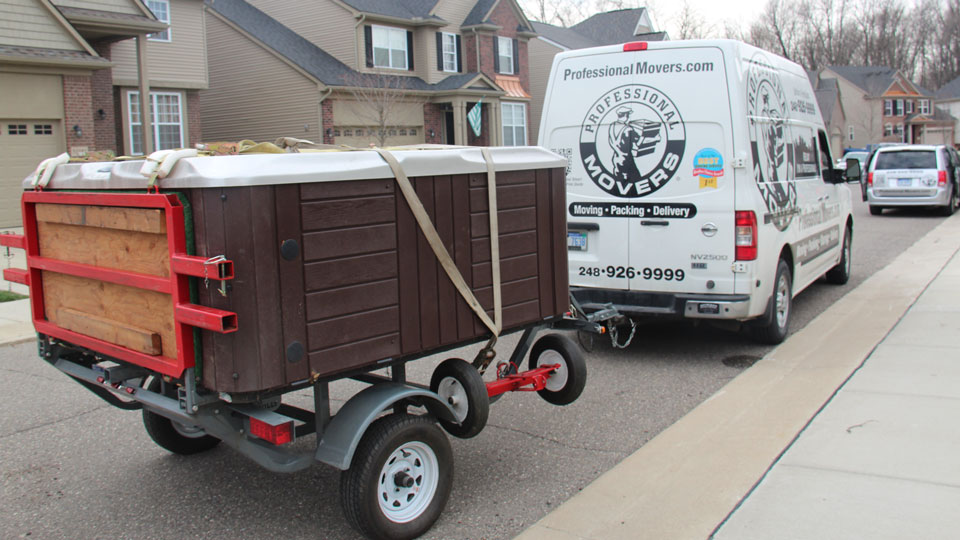 Professional Movers.com Hot Tub Moving Services 2