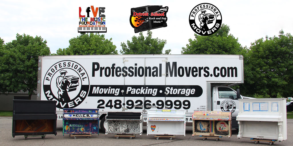 Professional Movers Com Supports Royal Oak Piano Project Fb