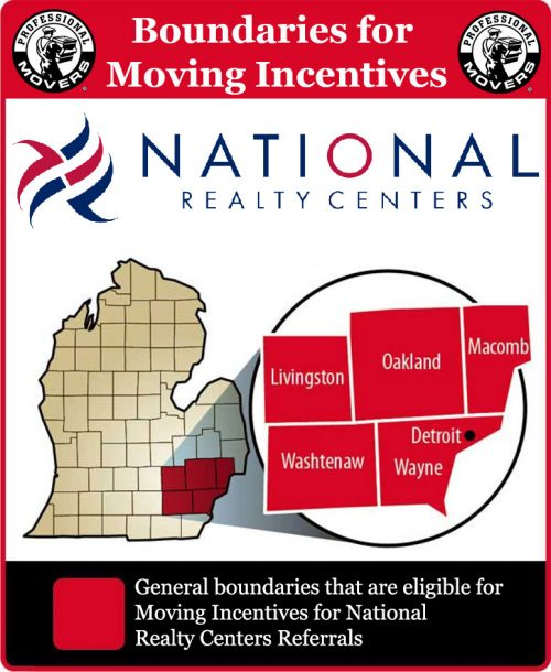 National Realty Centers Incentives Boundaries